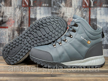 Зимові чоловічі кросівки 30982, Kajila Fashion Sport, темно-сірі, [ 43 ] р. 43-28,2 див., фото 2