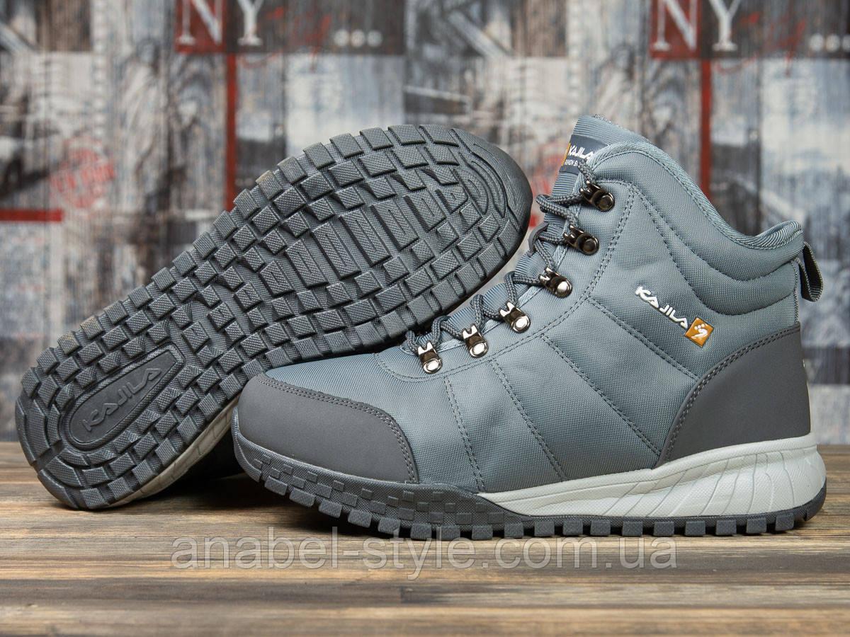Зимові чоловічі кросівки 30982, Kajila Fashion Sport, темно-сірі, [ 43 ] р. 43-28,2 див.