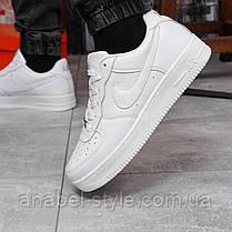 Кроссовки мужские 17972, Nike Air Force 1, белые, [ 43 45 ] р. 43-28,0см., фото 2
