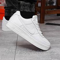 Кроссовки мужские 17972, Nike Air Force 1, белые, [ 43 45 ] р. 43-28,0см., фото 3