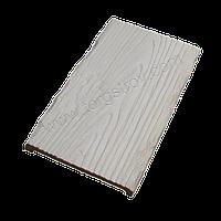 Панель декоративная белая 19*3,5см, рустик, Decowood, фото 1
