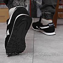 Кросівки чоловічі 18213, Reebok Classic, чорні, [ 44 45 ] р. 43-27,7 див., фото 3