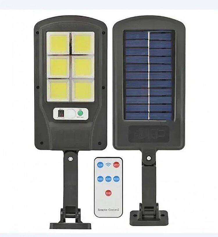 Светильник уличный на столб Bk-120-6cob с пультом на солнечной батарее