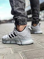 Кроссовки мужские 18611, Adidas x Pharrell Vento  (TOP), серебряные [ 41 42 43 46 ] р.(41-26,5см), фото 2
