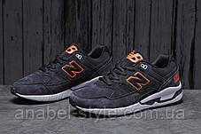 Кросівки чоловічі 18043, New Balance 530, темно-сірі, [ 45 46 ] р. 45-29,0 див., фото 2