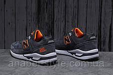 Кросівки чоловічі 18043, New Balance 530, темно-сірі, [ 45 46 ] р. 45-29,0 див., фото 3