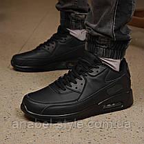 Кросівки чоловічі 18111, Air Max, чорні, [ 45 ] р. 45-29,7 див., фото 2