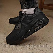 Кросівки чоловічі 18111, Air Max, чорні, [ 45 ] р. 45-29,7 див., фото 3