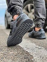 Кроссовки мужские 18162, Adidas ZX 750, темно-серые [ 43 44 ] р.(43-28,0см), фото 3