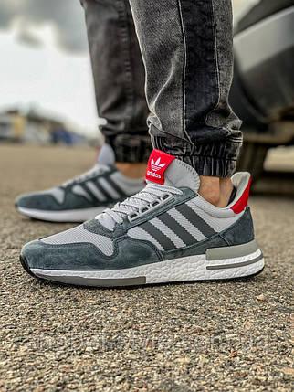 Кросівки чоловічі 18381, Adidas Zx 700 HO, сірі, [ 41 43 44 45 46 ] р. 41-26,5 див. 46, фото 2