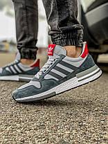 Кросівки чоловічі 18381, Adidas Zx 700 HO, сірі, [ 41 43 44 45 46 ] р. 41-26,5 див. 46, фото 3