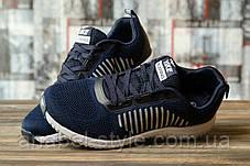 Кроссовки мужские 16463, Yike Running, темно-синие, [ 41 44 45 ] р. 41-26,5см. 44, фото 3