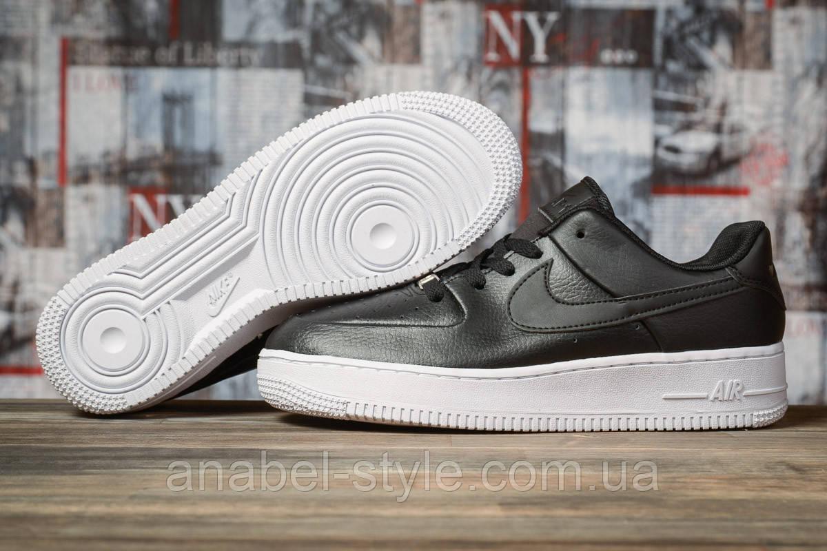Кроссовки женские 16891, Nike Air  AF-1, черные [ 38 40 ] р.(38-24,5см)