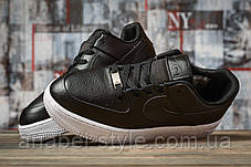 Кроссовки женские 16891, Nike Air  AF-1, черные [ 38 40 ] р.(38-24,5см), фото 3