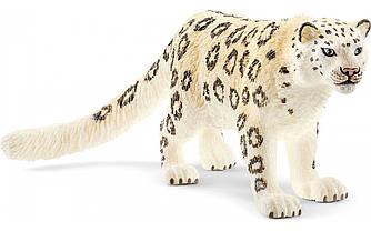 Schleich 14838 фигурка снежный барс Wild life Snow Leopard