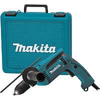 Дрель ударная Makita HP1641K + кейс, КОД: 2403604