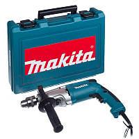 Дрель ударная Makita HP2050H + кейс, КОД: 2448750