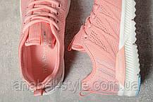 Кроссовки женские 10425, BaaS Ploa, розовые, [ 36 37 40 41 ] р. 36-22,8см. 37, фото 3