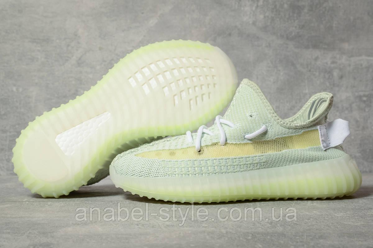 Кроссовки женские 17567, Adidas Yeezy, зеленые [ 38 39 40 ] р.(38-24,5см)
