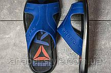 Шлепанцы мужские 17574, Reebok Cross Fit, синие, [ 40 45 ] р. 40-26,5см. 45, фото 3