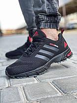 Кросівки чоловічі 18603, Adidas Spring Blade, чорні, [ 41 42 43 44 45 46 ] р. 41-26,5 див., фото 2