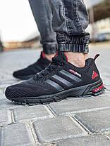 Кросівки чоловічі 18603, Adidas Spring Blade, чорні, [ 41 42 43 44 45 46 ] р. 41-26,5 див., фото 3