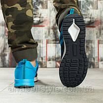 Кроссовки мужские 10091, BaaS Design, темно-синие [ 44 ] р.(44-28,4см), фото 3