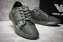 Кросівки чоловічі 12193, Giorgio Armani, зелені, [ 46 ] р. 46-29,4 див., фото 3