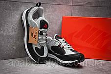 Кроссовки мужские 12673, Nike Aimax Supreme, черные [ нет в наличии ] р.(42-26,4см), фото 3