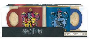 Набір 2 міні чашок Harry Potter ( Ґрифіндор та Когтевран) - 110 мл