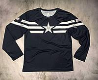 Мужская футболка с длинным рукавом Star (лонгслив), фото 1