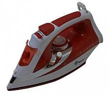 Праска з керамічної підошвою 2200W (червоний)