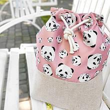 Рюкзак женский тканевый Панда