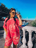 Летний женский костюм шорты+туника, фото 1