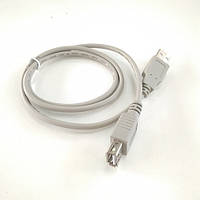 Кабель подовжувач USB 2.0 A 0.8 м (штекер - гніздо)