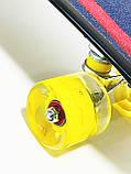 Скейт Пенни борд S 00635 Best Board дека 56 см, фото 6