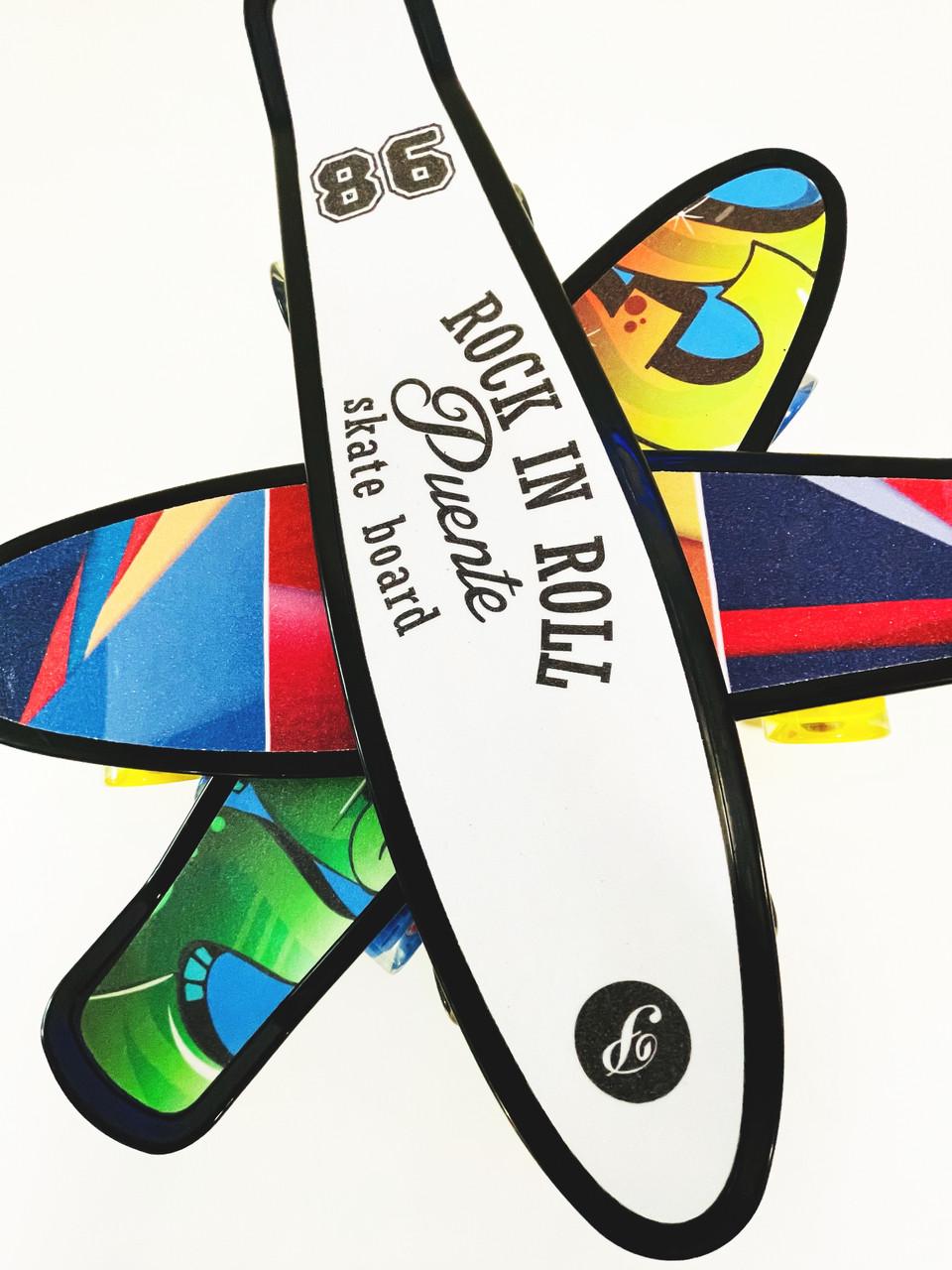 Скейт Пенни борд S 00635 Best Board дека 56 см