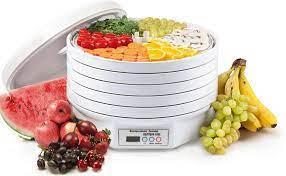 Электросушилка для фруктов и овощей  ВОЛТЕРА 1000 ЛЮКС с таймером, симисторная (улучшенная).