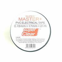 Изолента Super Master+ 21м., 17мм., 0.15мм. 600V черная