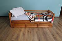 """Кровать односпальная с подъёмным механизмом с Бука """"Немо"""" 190*80"""