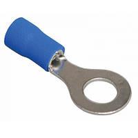 Наконечник кольцевой RVS2-3 изолированный, 1,5-2,5мм, отверстие 3,2м, синий, 1шт. (40-0212)