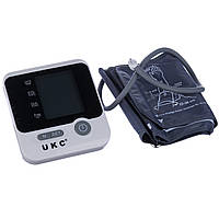 Автоматичний тонометр для вимірювання тиску UKC 8034, таномер артеріального тиску і пульсу