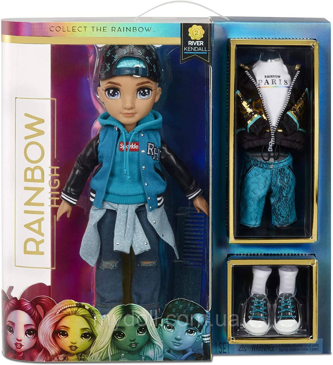 Кукла Rainbow High S2 Рейнбоу Хай Ривер Кендалл River Kendall 572145 Оригинал
