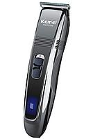 Аккумуляторная машинка для стрижки волос Kemei LFQ-KM-PG101 3Вт, 220-240В, 4 насадки, машинка для стрижки,, фото 1
