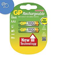 Аккумулятор GP 1000 AAA, аккумуляторные батареи ааа, аккумуляторные батарейки ааа gp, аккумуляторы gp 1000 mah, фото 1