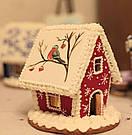 Пряничный домик, набор пластиковых вырубок, фото 3