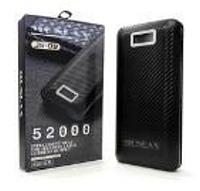 Внешний аккумулятор power bank MONDAX JS-09M черный, пластик, 52000мАч, mini USB, Li-lon, Power bank, внешний, фото 1