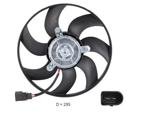 Вентилятор радіатора VW Caddy (FPS) FP 74 W1005