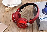 Беспроводные накладные наушники AZ-006-BT Aux 3.5мм, microSD TF, FM, Bluetooth наушники, накладные наушники, фото 1