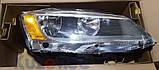 Фара VW Jetta VI (11-18) права, жовтий поворот USA (Depo) 5C7941006, фото 2